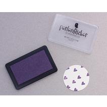 Tampon encreur, violet