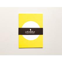 Carte postale, jaune