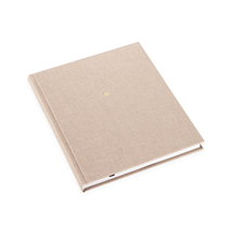 Carnet en toile, Sand Brown