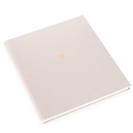 Notizbuch gebunden, Ivory