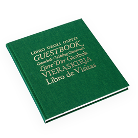 Livre d'or, clover green