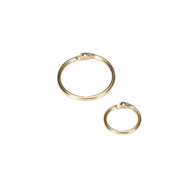 Columbus ring 32mm Gold