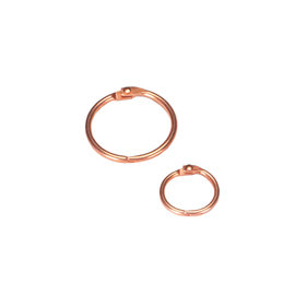 Columbus ring 32mm Rosegold