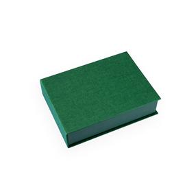 Vävklädd box, Grön