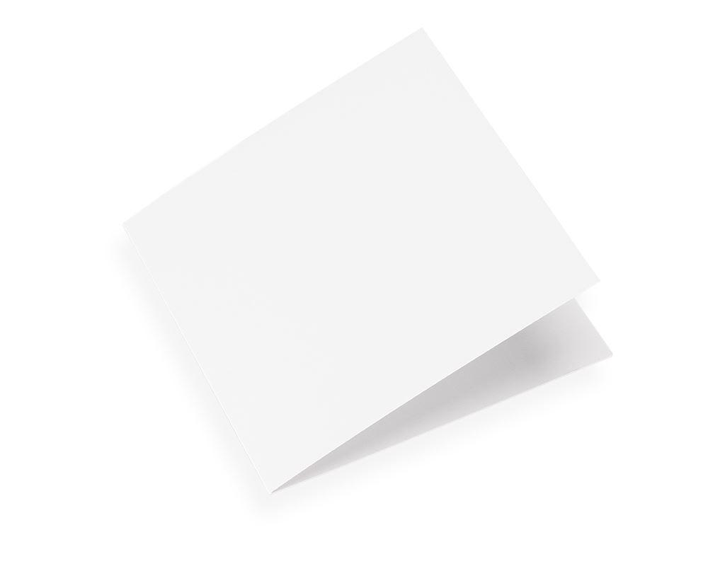 Faltkarte , Offwhite