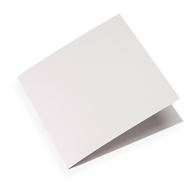 Folded card, Light grey