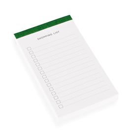 Shopping list, Green
