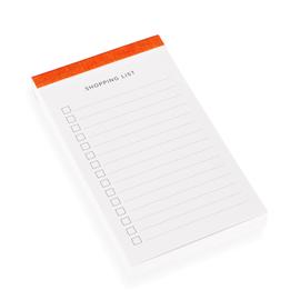 Shoppingliste, Orange