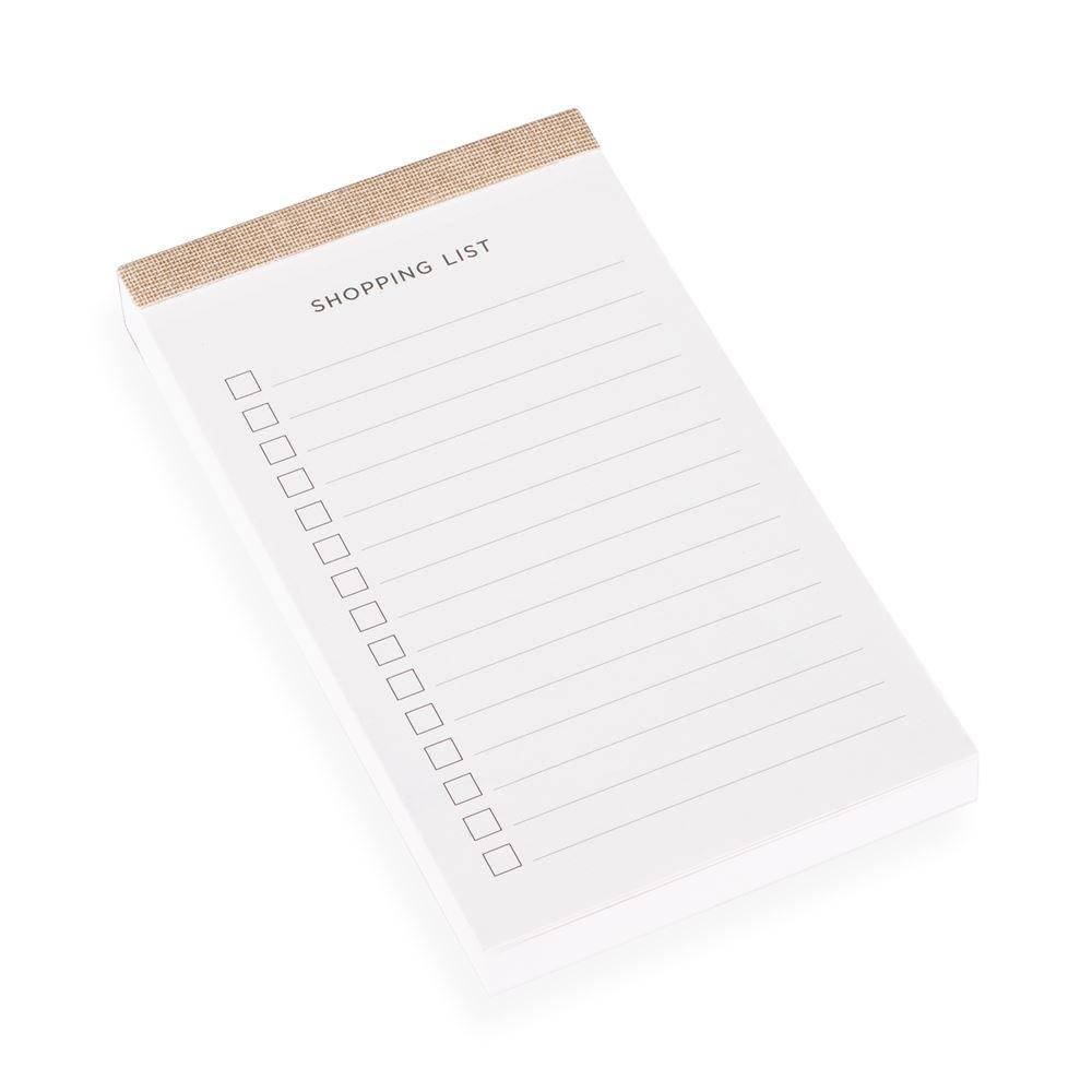 Shopping list, Sandbrown