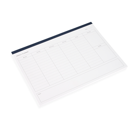 Planner Hebdomadaire, Smoke Blue