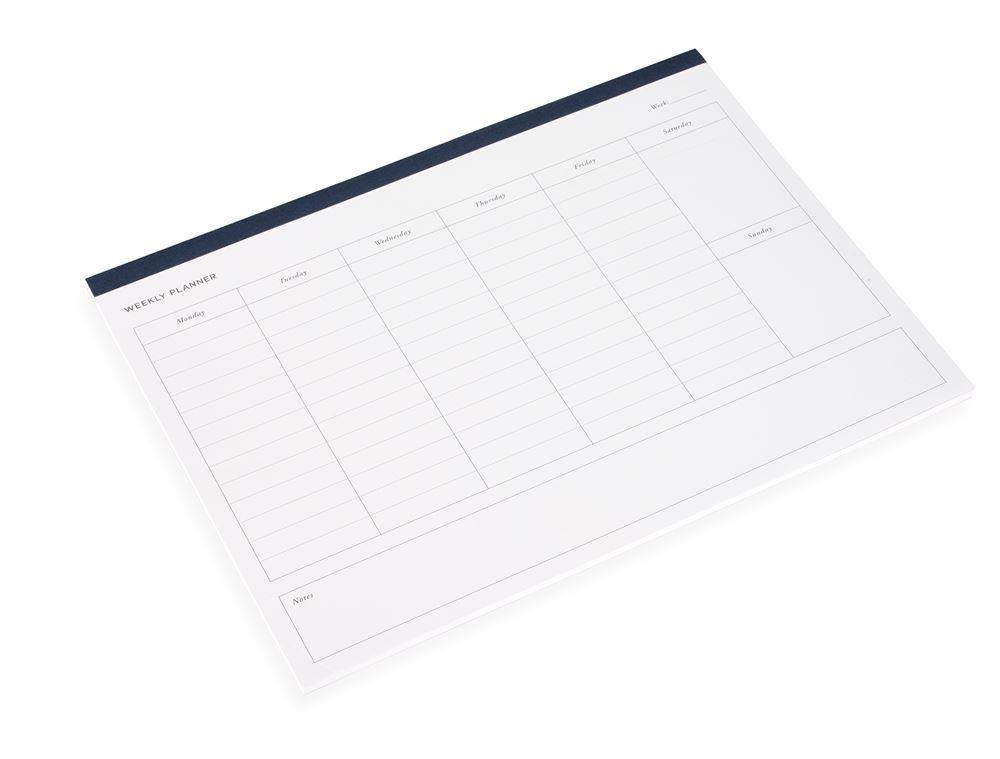 Weekly planner, Smoke Blue