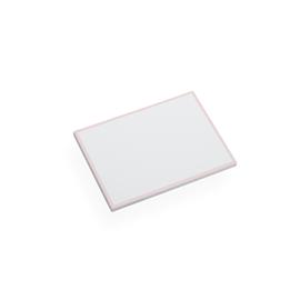 Korrespondenzkarten und Briefumschläge, Dusty Pink