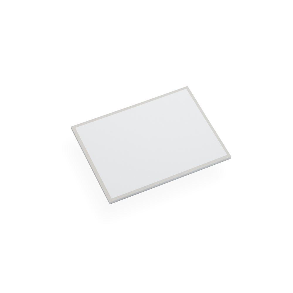 Korrespondenskort och kuvert, Ljusgrå