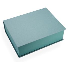 Vävklädd Box, Dimgrön