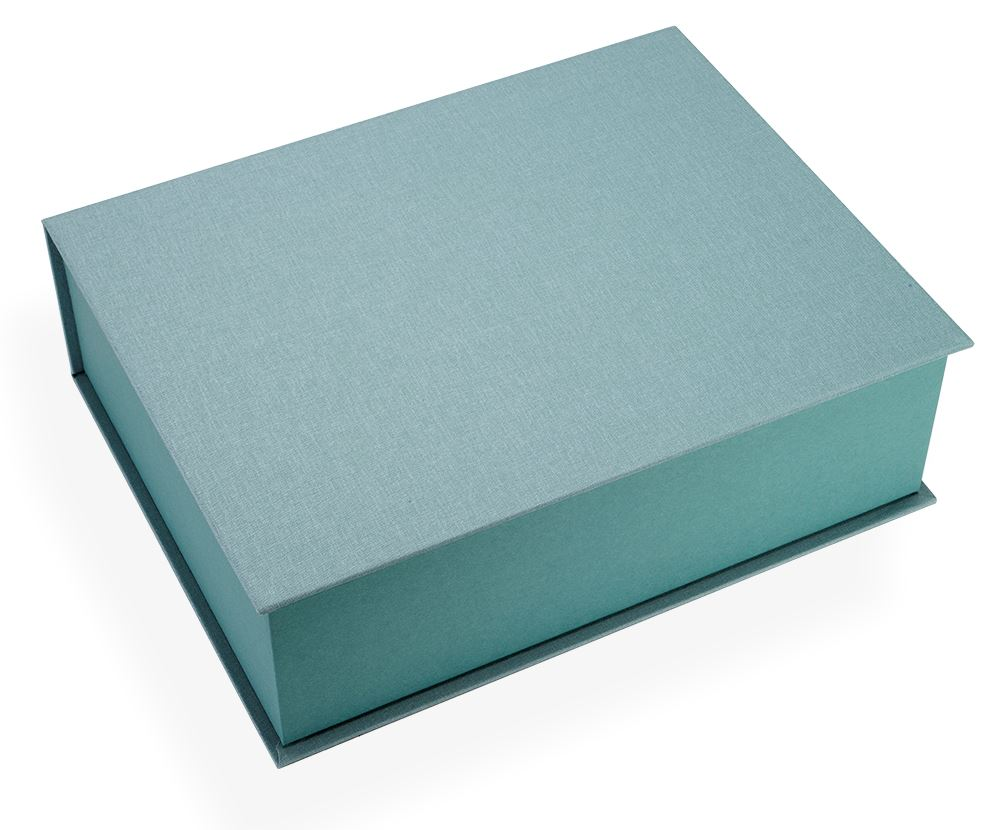 Box, dusty Green