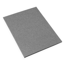 Vävklädd kuvertmapp med snodd, Stengrå