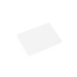 Korrespondenskort och kuvert, Vit