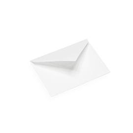 Kuvert i bomullspapper, vit