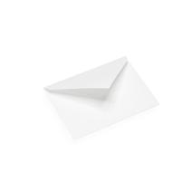 Enveloppe, papier coton, blanc