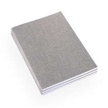 Carnet souple en toile, Light Grey