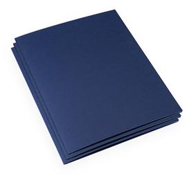 Chemise en Papier, Bleu