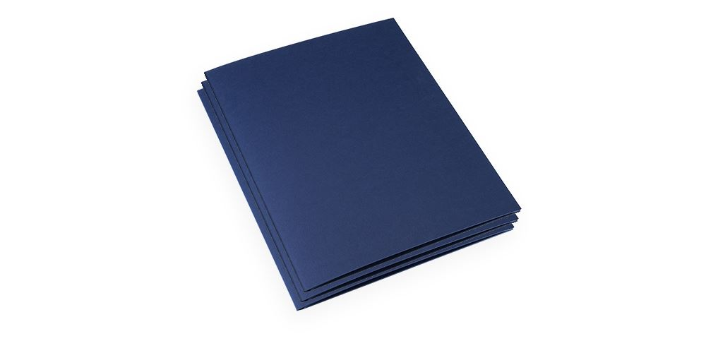 Papiermappe, Blue