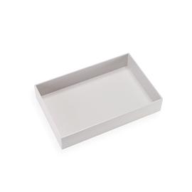 Cardboard Box, Pebble Grey