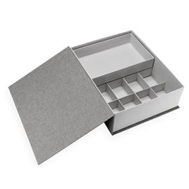 Box Collector, Pebble Grey