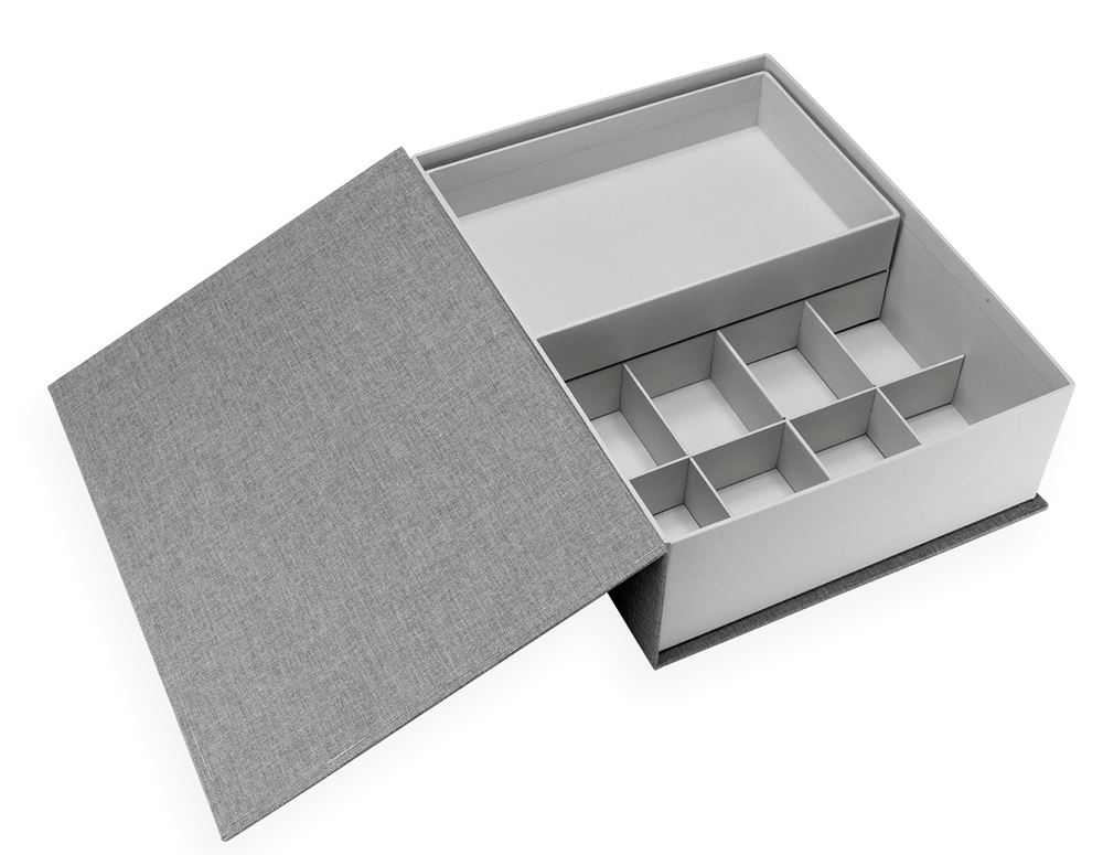 Collector Box, Pebble Grey