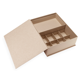 Box Collector, Sand Brown