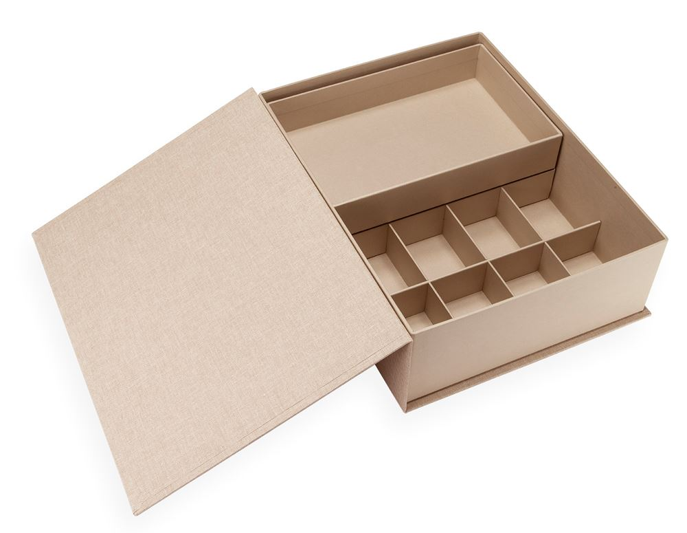 Collector Box, Sand Brown