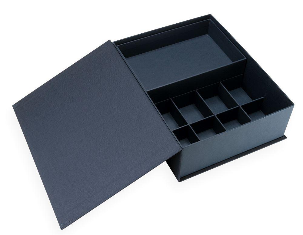 Collector Box, Smoke Blue