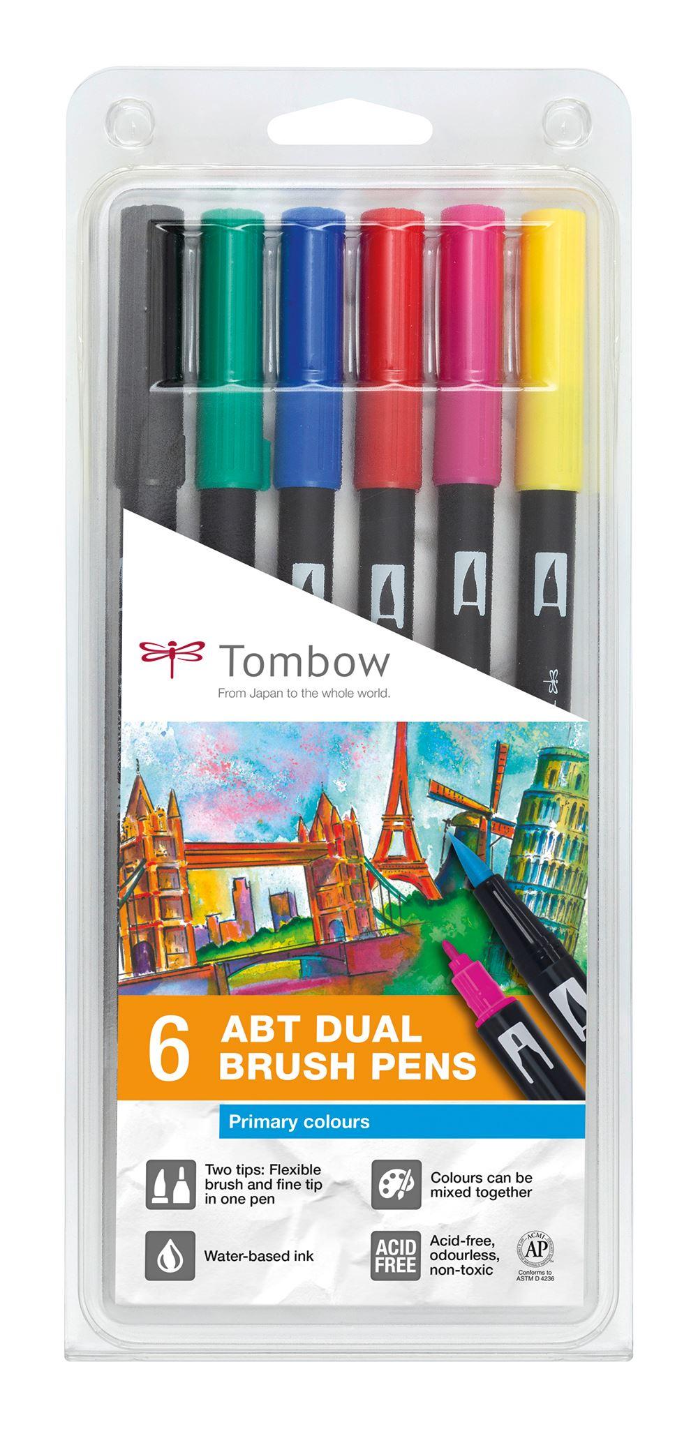 Tombow ABT Dual Brush 6-set