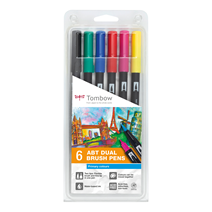 Tombow ABT Dual Brush 6-set