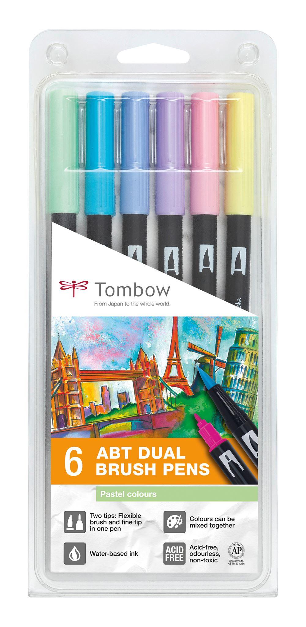 ABT Dual Brush pen 6-set