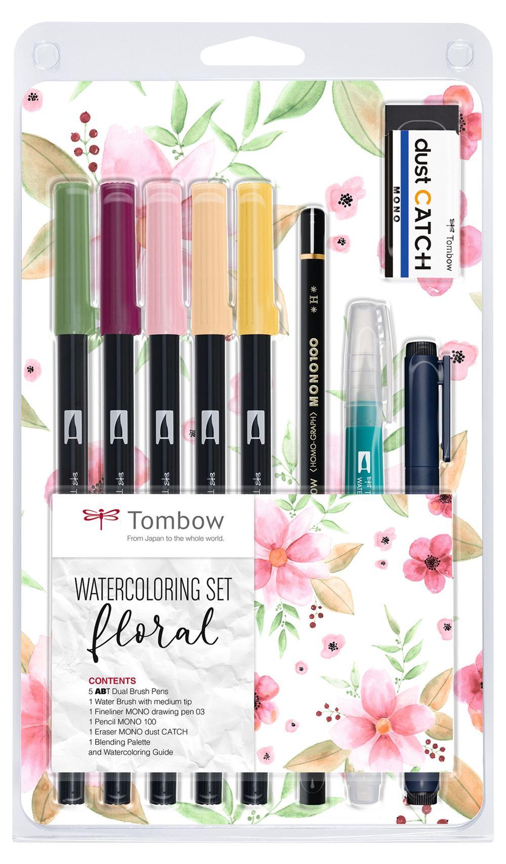 Tombow Watercoloring set