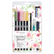 Tombow Watercoloring set
