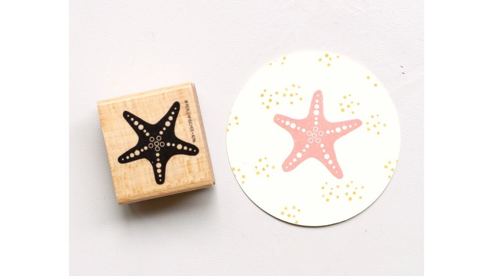 Stamp Star Fish, Medium A096