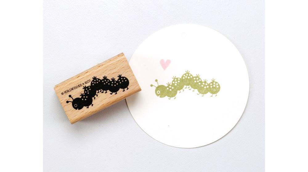 Stamp Caterpillar, Medium A207