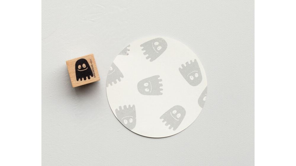 Stamp Happy ghost