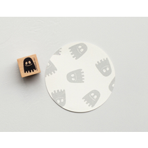 Stamp Happy ghost, Small B043