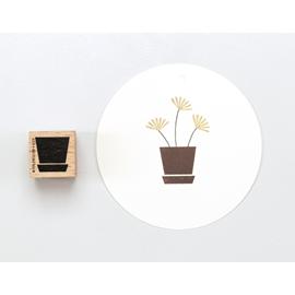 Stamp Plant pot