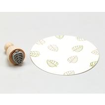 Stamp Leaf outline, Mini E123