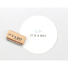 Tampon, it's a boy