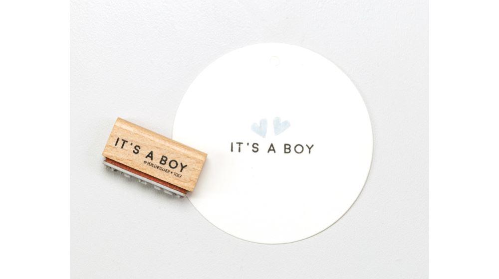 Stämpel IT`S A BOY