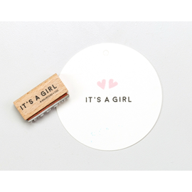 Stamp IT`S A GIRL, T058