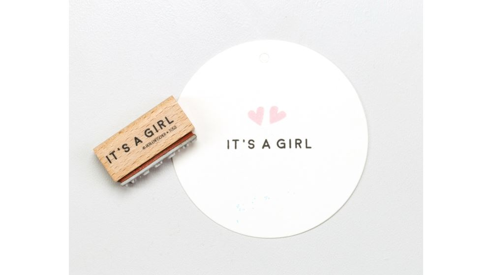 STAMP IT`S A GIRL