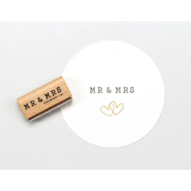 Stamp MR & MRS