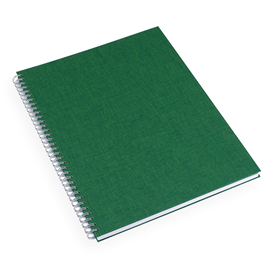 Notebook Wire-O, Clover Green