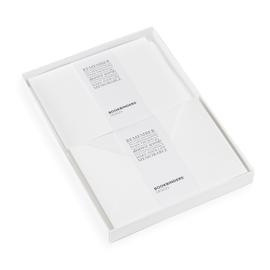Coffret de Correspondance, Blanc